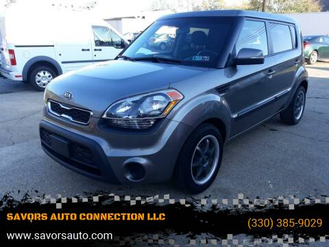 2012 Kia Soul for sale at SAVORS AUTO CONNECTION LLC in East Liverpool OH