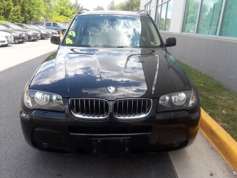 2006 BMW X3 for sale at M & M Auto Brokers in Chantilly VA
