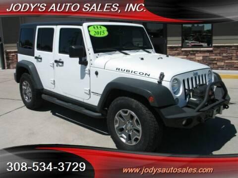 2015 Jeep Wrangler Unlimited for sale at Jody's Auto Sales in North Platte NE