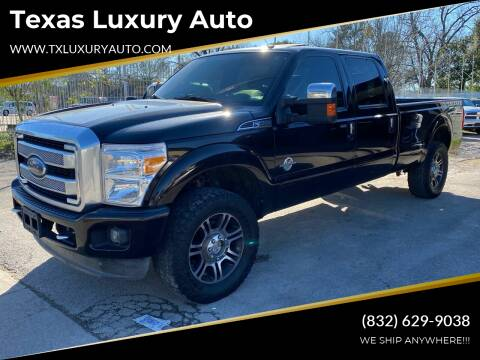 2013 Ford F-350 Super Duty for sale at Texas Luxury Auto in Houston TX