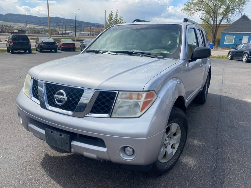 2005 Nissan Pathfinder for sale at Creekside Auto Sales in Pocatello ID