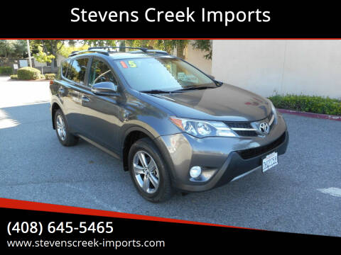2015 Toyota RAV4 for sale at Stevens Creek Imports in San Jose CA