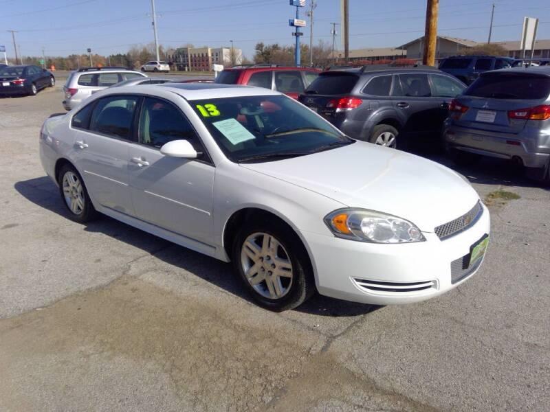 2013 Chevrolet Impala for sale at Regency Motors Inc in Davenport IA