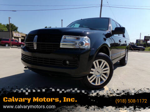 2011 Lincoln Navigator L for sale at Calvary Motors, Inc. in Bixby OK