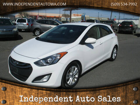 2013 Hyundai Elantra GT for sale at Independent Auto Sales #2 in Spokane WA