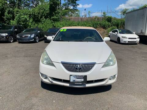 2005 Toyota Camry Solara for sale at 77 Auto Mall in Newark NJ