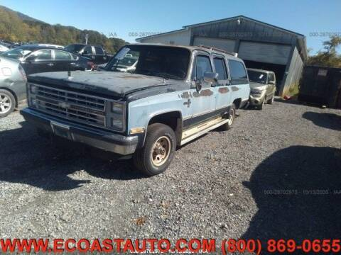 1987 Chevrolet Suburban for sale at East Coast Auto Source Inc. in Bedford VA