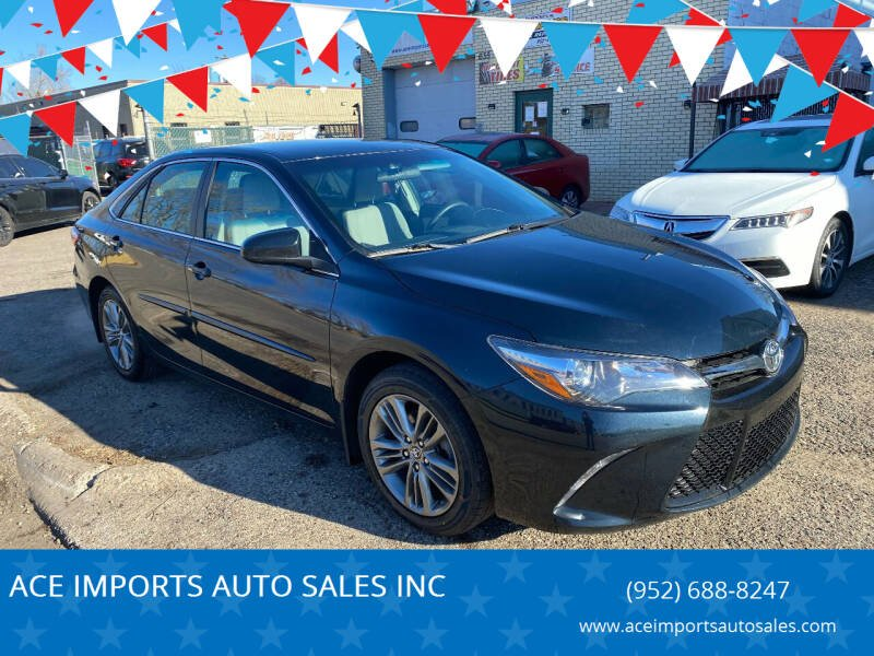 2017 Toyota Camry for sale at ACE IMPORTS AUTO SALES INC in Hopkins MN