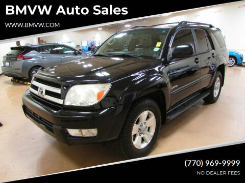 2005 Toyota 4Runner for sale at BMVW Auto Sales in Union City GA