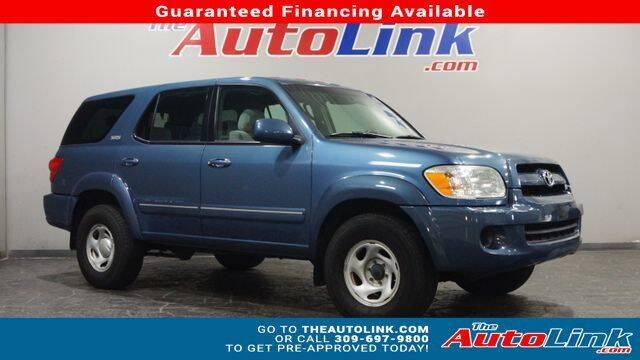 2007 Toyota Sequoia for sale at The Auto Link Inc. in Bartonville IL