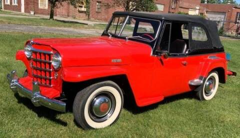 1950 Willys Jeepster for sale at Classic Car Deals in Cadillac MI