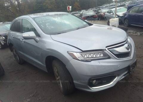 2016 Acura RDX for sale at MIKE'S AUTO in Orange NJ