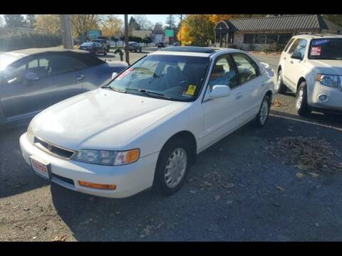 1996 Honda Accord for sale at Colonial Motors in Mine Hill NJ