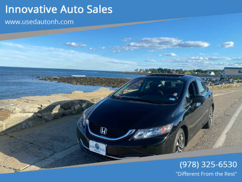 2015 Honda Civic for sale at Innovative Auto Sales in North Hampton NH