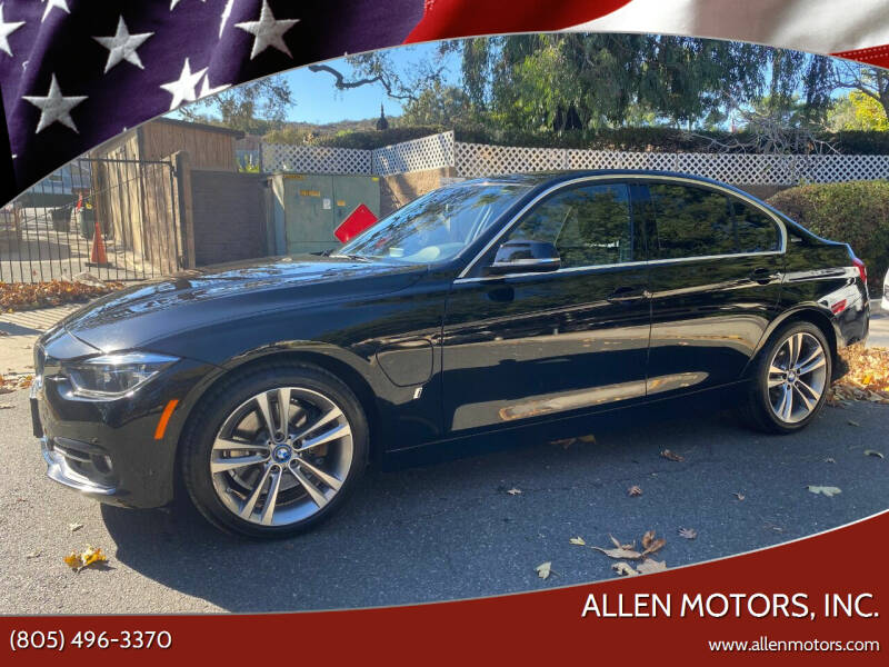 2017 BMW 3 Series for sale at Allen Motors, Inc. in Thousand Oaks CA