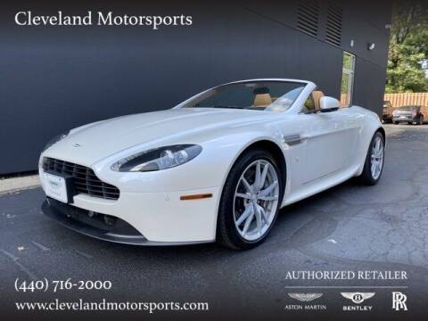2012 Aston Martin V8 Vantage for sale at Drive Options in North Olmsted OH