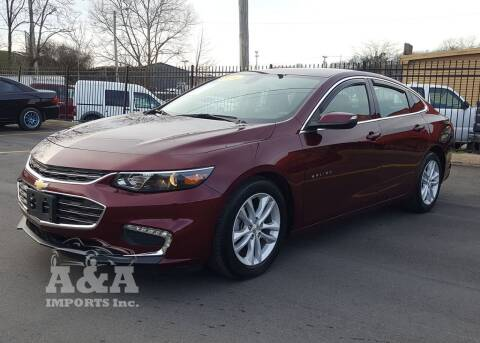 2016 Chevrolet Malibu for sale at A & A IMPORTS OF TN in Madison TN
