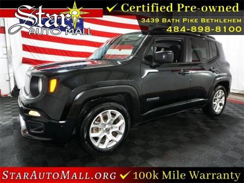 2015 Jeep Renegade for sale at STAR AUTO MALL 512 in Bethlehem PA
