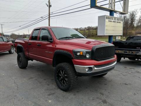 2007 Dodge Ram Pickup 1500 for sale at Route 22 Autos in Zanesville OH
