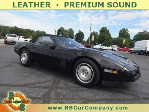 1986 Chevrolet Corvette for sale at R & B CAR CO - R&B CAR COMPANY in Columbia City IN