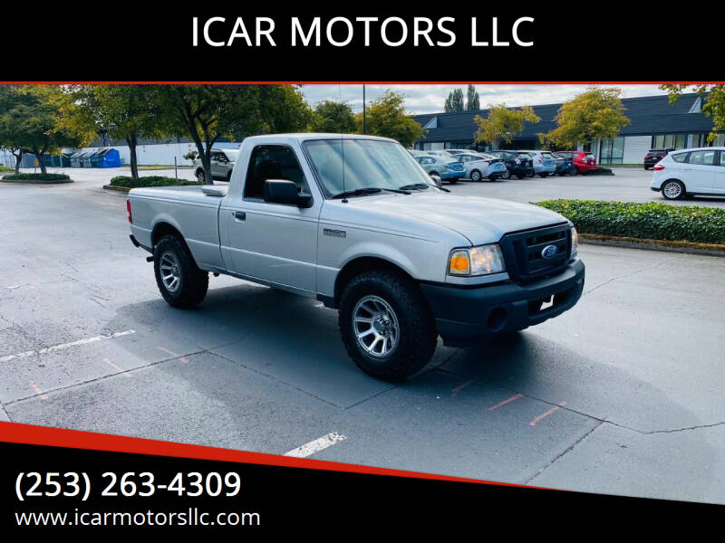 2008 Ford Ranger for sale at ICAR MOTORS LLC in Federal Way WA