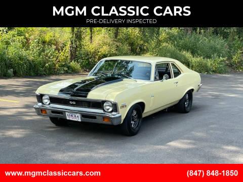 1972 Chevrolet Nova for sale at MGM CLASSIC CARS in Addison IL