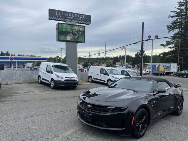 2019 Chevrolet Camaro for sale at Lakeside Auto in Lynnwood WA