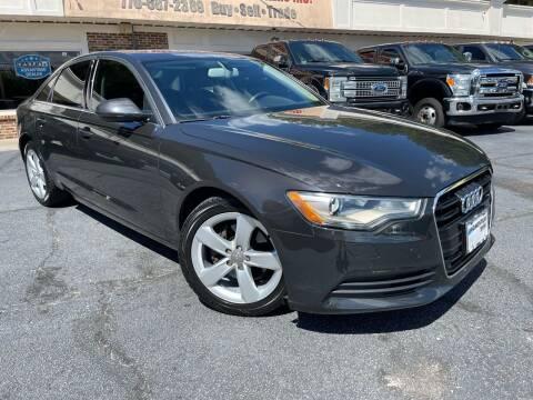 2012 Audi A6 for sale at North Georgia Auto Brokers in Snellville GA