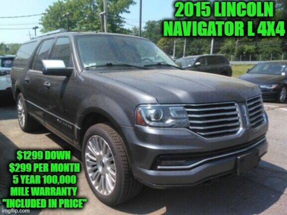 2015 Lincoln Navigator L for sale at D&D Auto Sales, LLC in Rowley MA