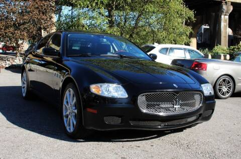 2008 Maserati Quattroporte for sale at Cutuly Auto Sales in Pittsburgh PA