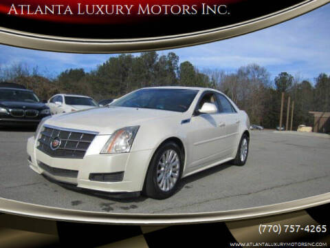 2011 Cadillac CTS for sale at Atlanta Luxury Motors Inc. in Buford GA