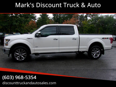 2016 Ford F-150 for sale at Mark's Discount Truck & Auto in Londonderry NH