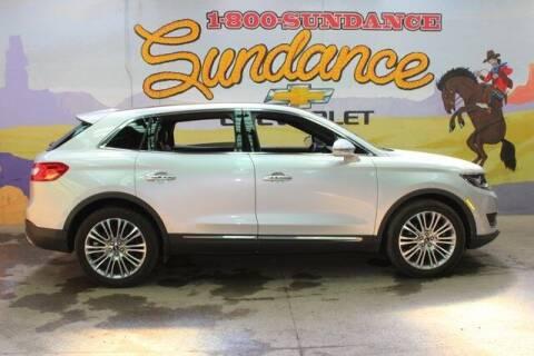 2018 Lincoln MKX for sale at Sundance Chevrolet in Grand Ledge MI