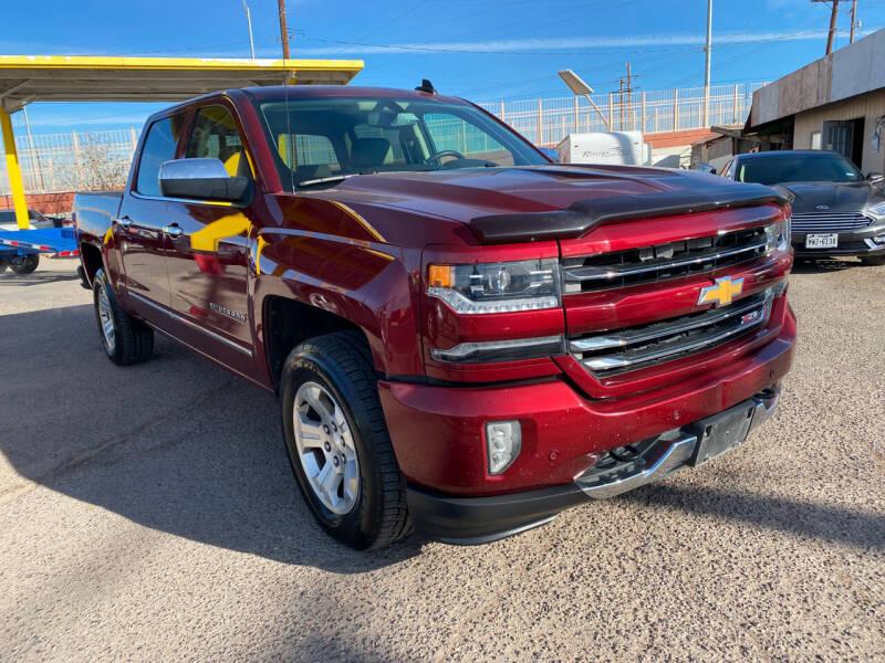 2017 Chevrolet Silverado 1500 for sale at BID & WIN MOTORS in El Paso TX