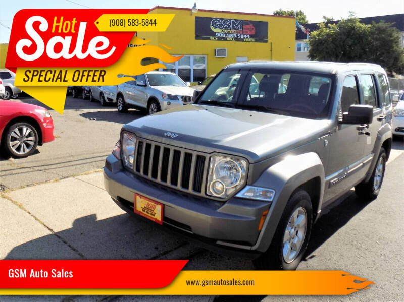 2012 Jeep Liberty for sale at GSM Auto Sales in Linden NJ