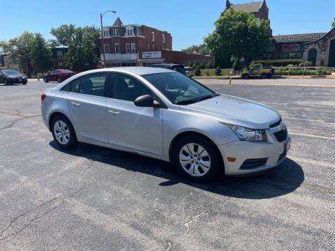 2012 Chevrolet Cruze for sale at DC Auto Sales Inc in Saint Louis MO