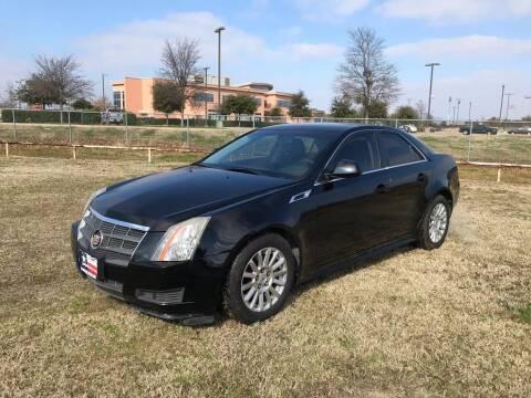 2011 Cadillac CTS for sale at LA PULGA DE AUTOS in Dallas TX