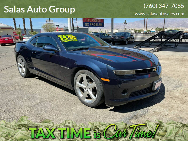 2015 Chevrolet Camaro for sale at Salas Auto Group in Indio CA