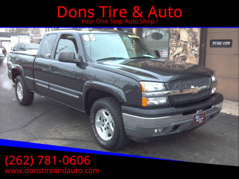 2005 Chevrolet Silverado 1500 for sale at Dons Tire & Auto in Butler WI