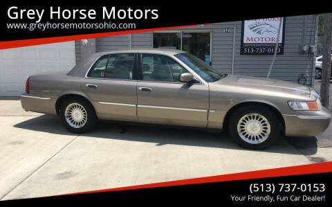 2001 Mercury Grand Marquis for sale at Grey Horse Motors in Hamilton OH