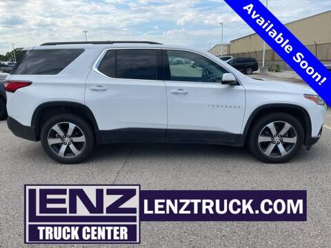 2020 Chevrolet Traverse for sale at LENZ TRUCK CENTER in Fond Du Lac WI
