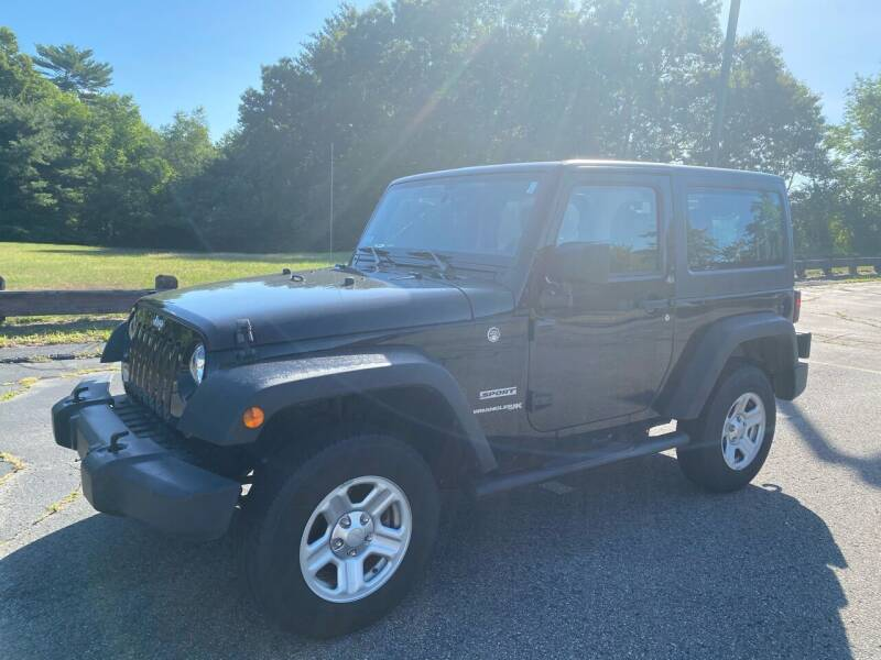 2018 Jeep Wrangler JK for sale at Padula Auto Sales in Braintree MA