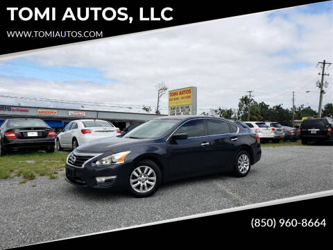 2015 Nissan Altima for sale at TOMI AUTOS, LLC in Panama City FL