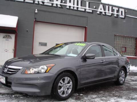 2012 Honda Accord for sale at Meeker Hill Auto Sales in Germantown WI