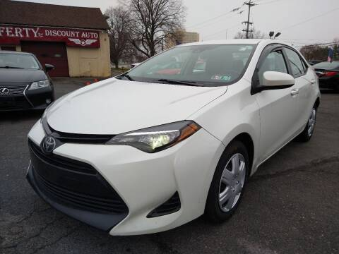 2017 Toyota Corolla for sale at P J McCafferty Inc in Langhorne PA