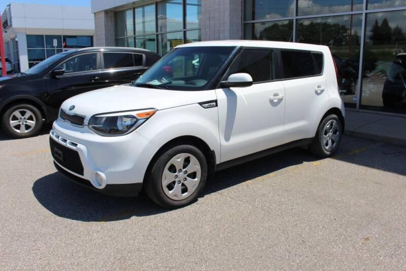 2015 Kia Soul for sale at Peninsula Motor Vehicle Group in Oakville NY