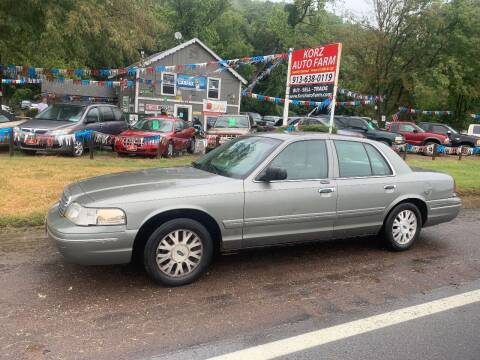 2004 Ford Crown Victoria for sale at Korz Auto Farm in Kansas City KS