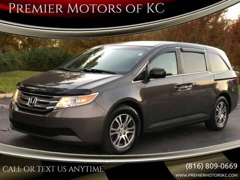 2011 Honda Odyssey for sale at Premier Motors of KC in Kansas City MO