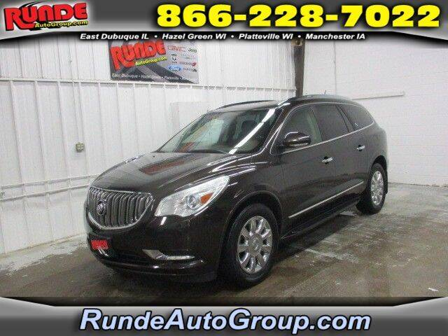 2013 Buick Enclave for sale at Runde Chevrolet in East Dubuque IL