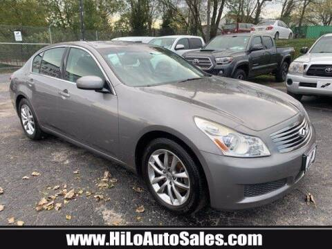 2007 Infiniti G35 for sale at Hi-Lo Auto Sales in Frederick MD